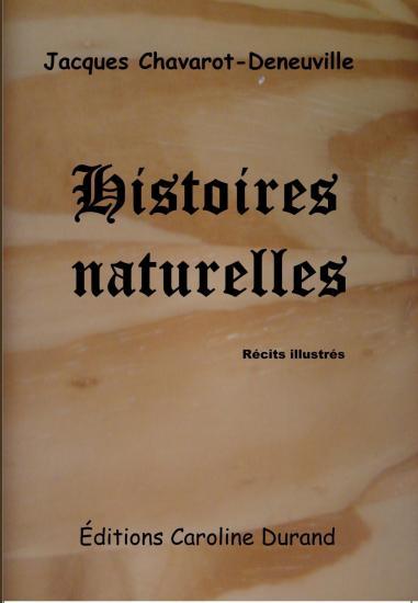 Premiere de couverture histoires naturelles
