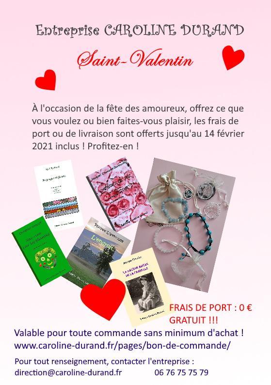 Publicite saint valentin